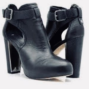 BCBG Max Azria Ma Naples Lamb Leather Ankle Bootie